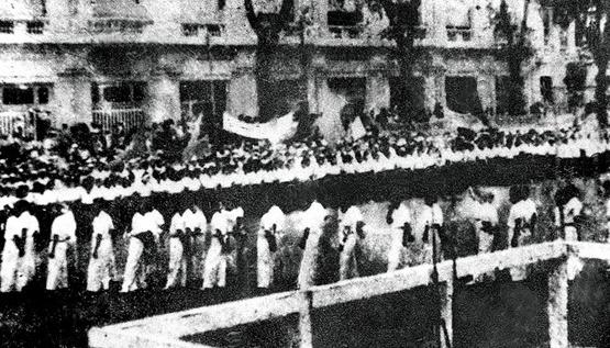 Kết quả hình ảnh cho lễ độc lập ở sài gòn 1945